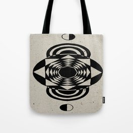 Octagonal Illusion Tote Bag
