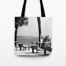 Sit Back and Relax Tote Bag