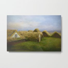 Iceland Simpler times 2 Metal Print
