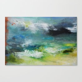 Abstract Digital Art from Original Painting Canvas Print