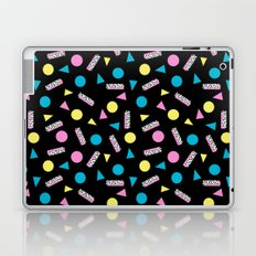 Max Out - abstract memphis minimal colorful neon bright happy shapes geometric 1980s 80s retro  Laptop & iPad Skin