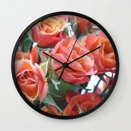 Autumn Love Wall Clock