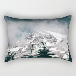 Mount Rainier IV Rectangular Pillow
