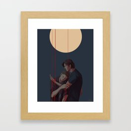 i offer cleansing with wicked hands Framed Art Print