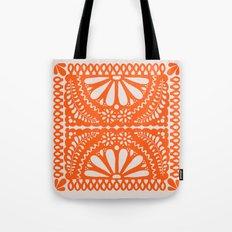 Fiesta de Flores Orange Tote Bag