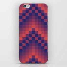 Pixelated Chevron iPhone Skin