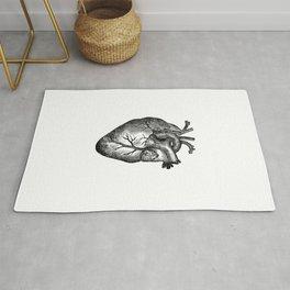 Vintage Heart Anatomy Rug