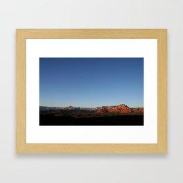 Photography Serenity in Sedona Framed Art Print