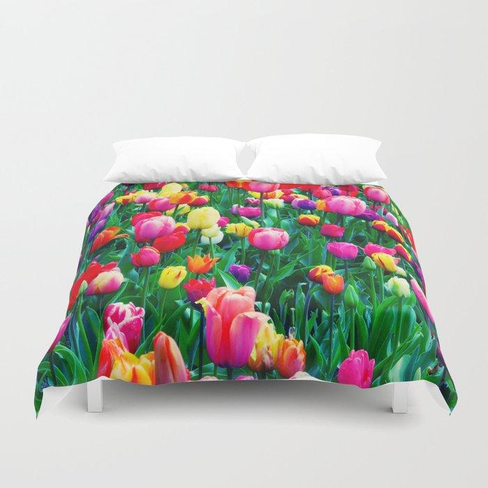 Tulips 1 Duvet Cover