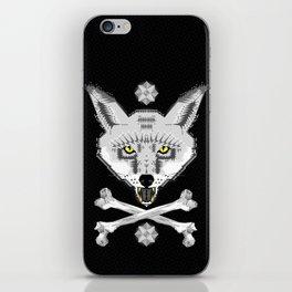 Silver Fox Geometric iPhone Skin