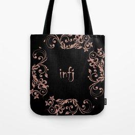 infj mbti personality Tote Bag