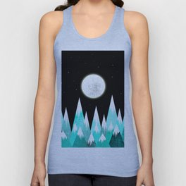 Beauty Night Unisex Tank Top