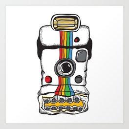 Insta Camera Art Print