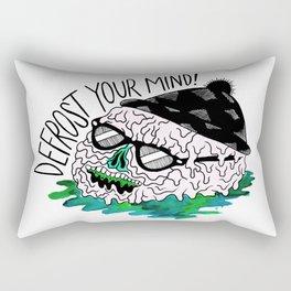 Defrost Your Mind Rectangular Pillow