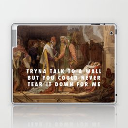 Frederic Leighton, The Reconciliation of the Montagues & the Capulets (1854) / Halsey, Now Or Never Laptop & iPad Skin