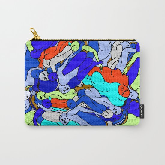 Sleepy Heads - Sapphire Blue Carry-All Pouch