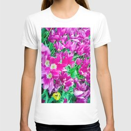 The beauty of the violet. T-shirt