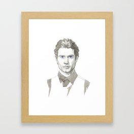 Henri Cavill Framed Art Print
