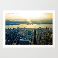 Top of the Empire #11 Art Print