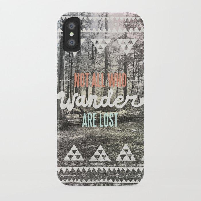 Wander iPhone Case