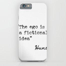 David Hume Scottish philosopher iPhone Case
