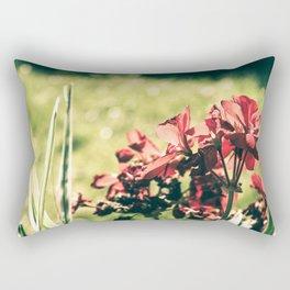 Season fading away the color Rectangular Pillow