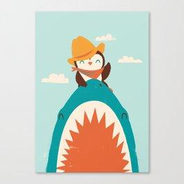 Yeehaw! Canvas Print