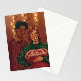 Christmas Jily Stationery Cards