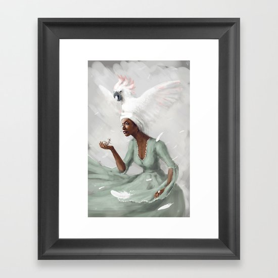 _no name Framed Art Print