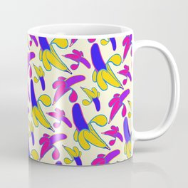 Berry Berry Nanners - Pink and Yellow Coffee Mug