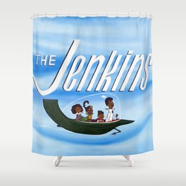 The Jenkins Shower Curtain