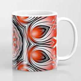 Mandala red 24 Coffee Mug