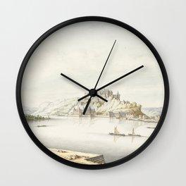 Ehrenbreitstein Castle, Jan van Call (I), 1666 - 1706 Wall Clock