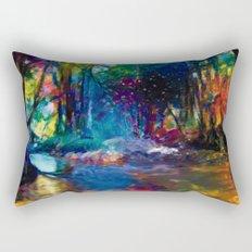 Cours d'eau Rectangular Pillow