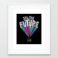 future Framed Art Prints featuring The Future by Chris Piascik