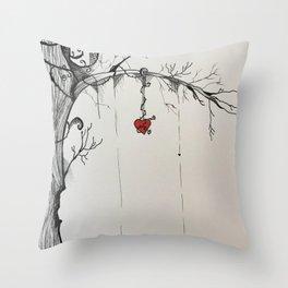Beautiful Disaster Throw Pillow