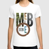 melbourne T-shirts featuring Melbourne by Virbia