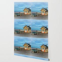 On Penarth Pier Wallpaper