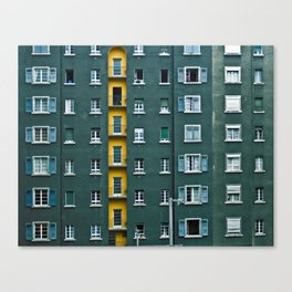 In and Out. Canvas Print