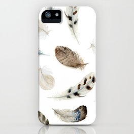 Feathered and Fancy Free iPhone Case