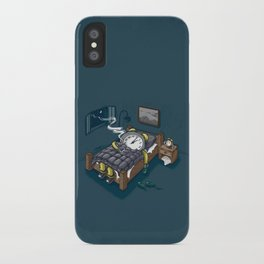 Sleep Modus iPhone Case