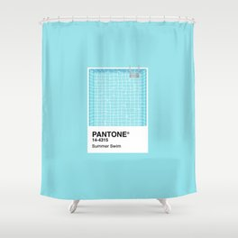 Pantone Series – Summer Swim Shower Curtain