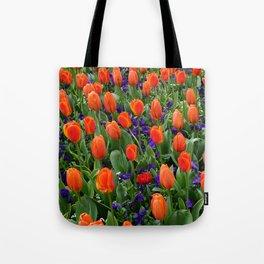Tulip Field 2 Tote Bag