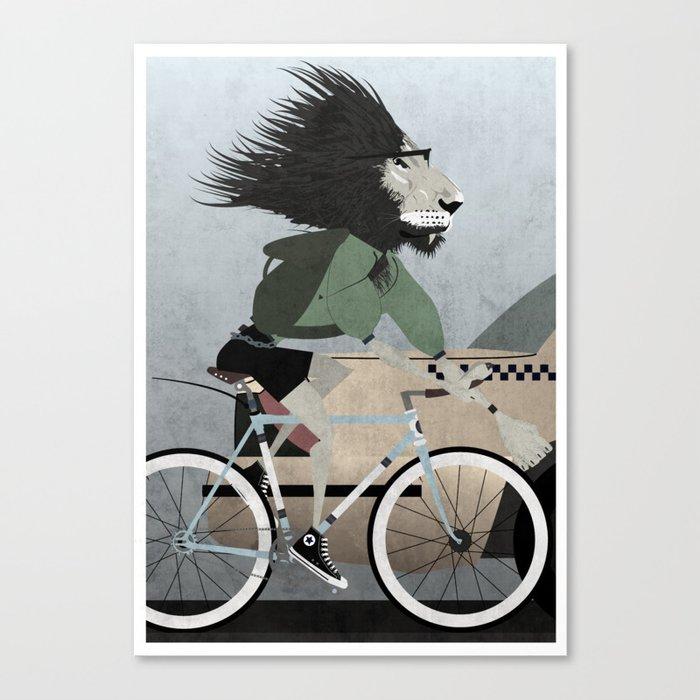 Alleycat Races Canvas Print