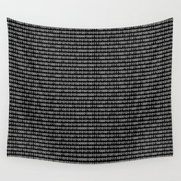 The Binary Code DOS version Wall Tapestry