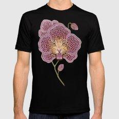 Wild Orchid MEDIUM Mens Fitted Tee Black