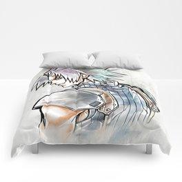 Zack Fair Artwork ( Final Fantasy VII - Crisis Core) Comforters