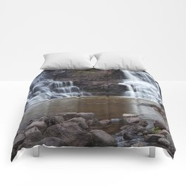 Lower Gooseberry Falls Comforters