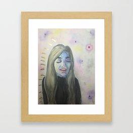 Hayley Framed Art Print