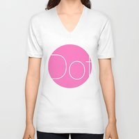 dot V-neck T-shirts featuring Dot by Mr and Mrs Quirynen